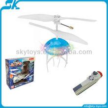 Hot!!! fj729 flashing flying toys 2012 Newly style