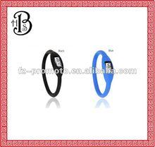 fashion negative ion silicone watches