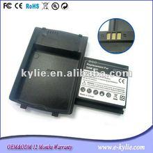 lithium polymer extended battery 3.7v 2000mah for samsung I897