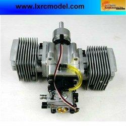 RCGF 50cc Twin Petrol/Gas Engine for Radio Control Aeroplane