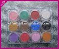 Yiwu fornecedores para fornecer todos os tipos de arte de unhas, Cosméticos acrílico pó make up pó facial