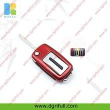 metallic plastic smart key covers