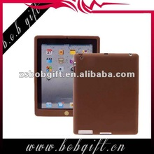 Colourful silicone holder case for ipad 3