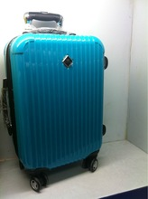 colorful printing ABS+PC trolley luggage
