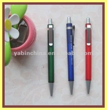 Chrome Clip Ballpoint Pen