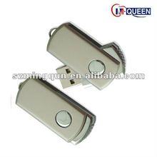 High Capacity Top Selling Swivel Metal USB Flash Drive