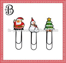 2012 promotional gifts soft pvc bookmark