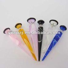 2012 hot selling Faux ear taper,marble fake taper body piercing jewelry