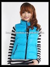 2012 new design women padded vest