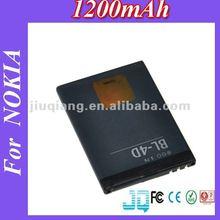 1200mAh BL-4D bateria de celular for Nokia E5 E51 E7 N8 N82 N81 N97mini