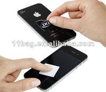 pvc cellphone screen cleaner