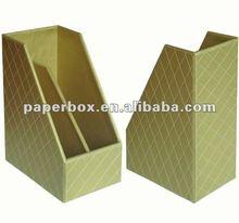 kraft color rigid strong file and magazine folder with custom design and logo printing