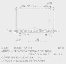 radiator TOYOTA Townace CR40/41/50/51 96-98, LITEACE CR41 16400-6A130