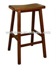 walnut saddle stool zadel kruk Sattel Hocker silla de las heces