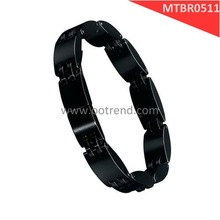 IP plated black color tungsten bracelets, also could made of ceramic, subject to customer's interest, scratch proof ,hot sale