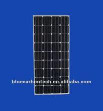 130W 24v monocrytalline pv solar panel