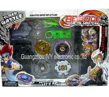 Beyblades Metal MASTERS Exclusive Ultimate Gift Set Gangan Galaxy Team 4 Pack 1 set