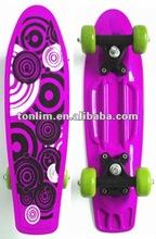 kids plastic skateboard