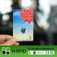 2012 China 860~960Mhz iso18000-6c epc gen2 UHF passive card