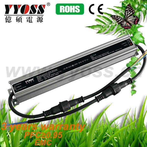 35W 350mA IP67 Waterproof LED Driver