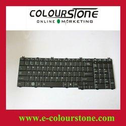 Layout us for toshiba c650 series laptop keyboard Notebook keyboard