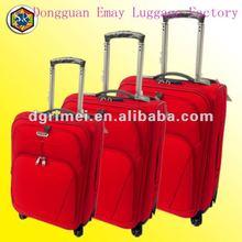 2012 New Design 4-Wheels 1680D Trolley Bag Set