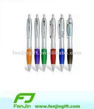 Promotional rubber touch pen plastic
