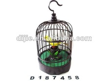 Bamboo Circular Cage Sound Control Bird ,toys bird ,gift ,promotion toys for children D187458