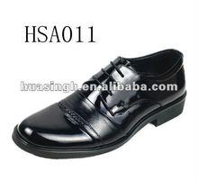 HB,2012 high-grade shiny classic rubber sole men executive social shoes