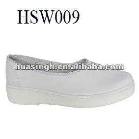 Hb, Asian antibacteriana suave y cómodo slip on mujeres zapatos de la enfermera