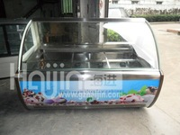 China manufacturer - gelato display freezer/commercial refrigerator for ice cream/grocery display refrigerator