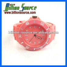Competitive and fancy silicone watches no logo for men