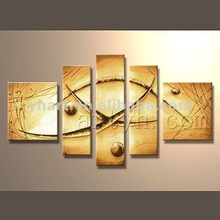 Hot Sell Handmade Group Abstract Oil Painting