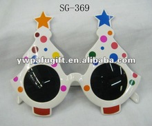 Christmas sunglasses carnival party glasses