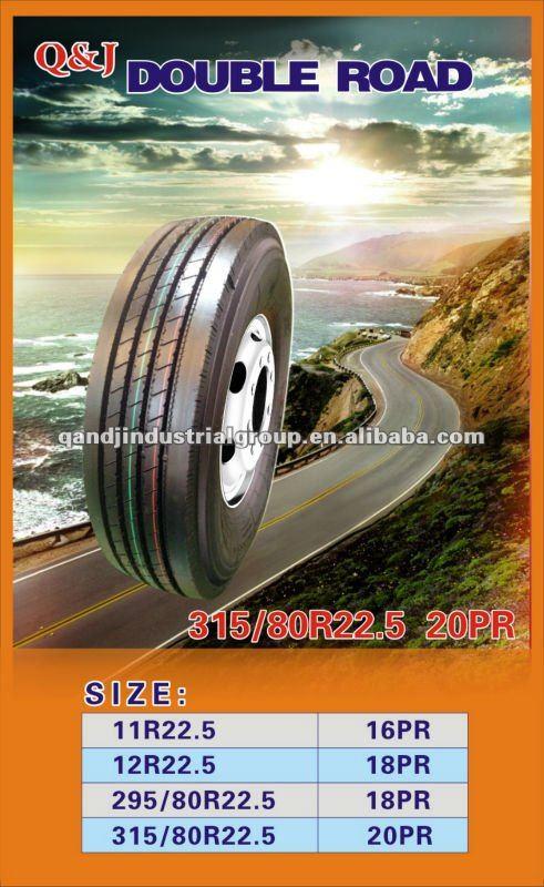 Caminhão do pneu 255 / 70r22.5 275 / 70r22. 275 / 80r22. 285 / 75r24. 295 / 75r22. 315 / 70r22. 385 / 65R22