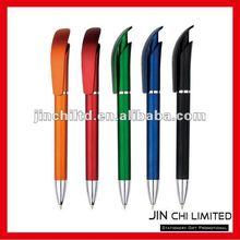 stylish design new plastic ballpoint pen for notebook