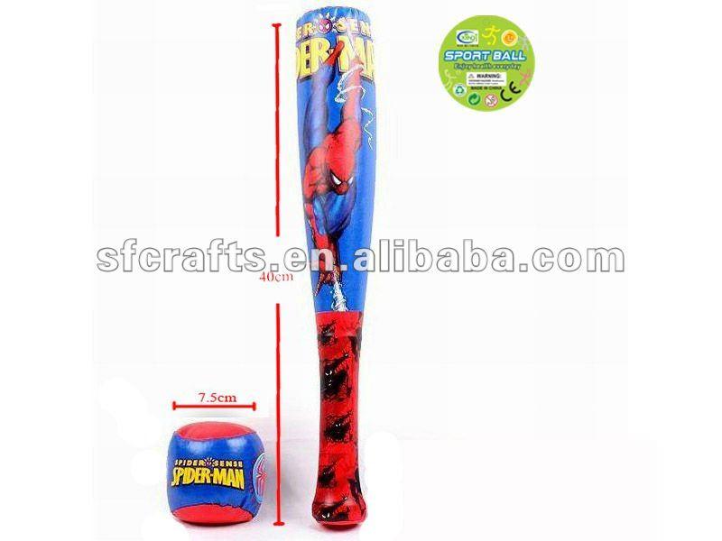 Spider-man baseball with bat