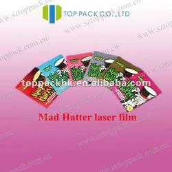 Mini spice bags /aluminum foil bag with zipper /herbs pouch