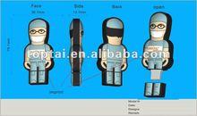 2012 Doctor and Nurse Plastic USB flash drive with bulk capacity,beautiful doctor USD sticks, nice doctor usb flash disk