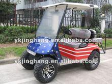 Four Wheel Drive 4400W 4 seater Golf Cart