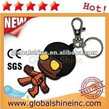 high quality keychain plastic pvc card