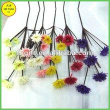 A casa de decoração floral de seda margarida regime ( fb - f1427 )