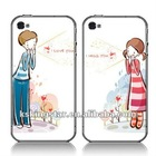 Plastic Fresh Design Couple Case for iPhone 4 4G & 4S