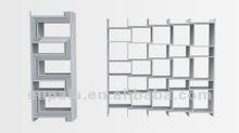 Flex bookshelves/retractable book cabinet