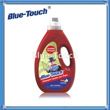 Blue-Touch Liquid Laundry Concentrate plus OxiClean Detergent, Flowery Scent, 100 Ounce (Pack of 6)