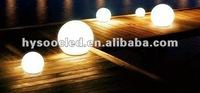 outside globe light/outdoor glow ball/garden decoration illuminated ball