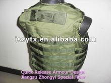 Full protection quick release bulletproof vest
