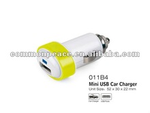 5v2a dual usb car charger for mobile phone/iphone/ipad