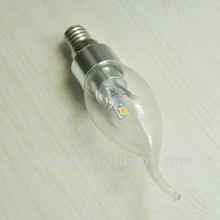 2012 HOT sale 3w led lamp candle e14 SMD 100-240V