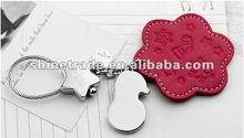 2012 x'mas gift tag , keychain for Chrimas ST-0231